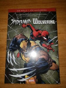 Spider-Man-And-Wolverine-Hardcover-Marvel-Comics-New-Factory-Sealed-Avengers