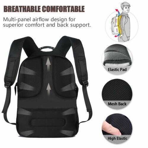 Extra Large Travel Laptop Backpack,TSA Durable College School Computer Bookbag N