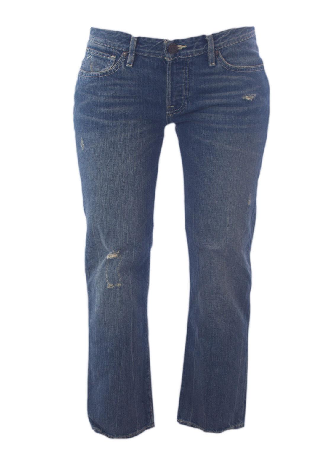 Vintage Revolution Damen Antik Abgenutzt Freundin Ausschnitt Jeans 2wgrsxrd Nwt