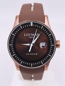 Orologio-Locman-Island-Data-Gomma-titanio-40mm-600BB-280-Scontatissimo-Nuovo