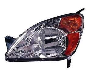 New honda crv 2002 2003 2004 left driver headlight head for 2000 honda crv driver side window