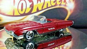 HOT-WHEELS-2005-MUSCLE-MANIA-SERIES-1963-Thunderbird-t-bird-Convertible-Metal