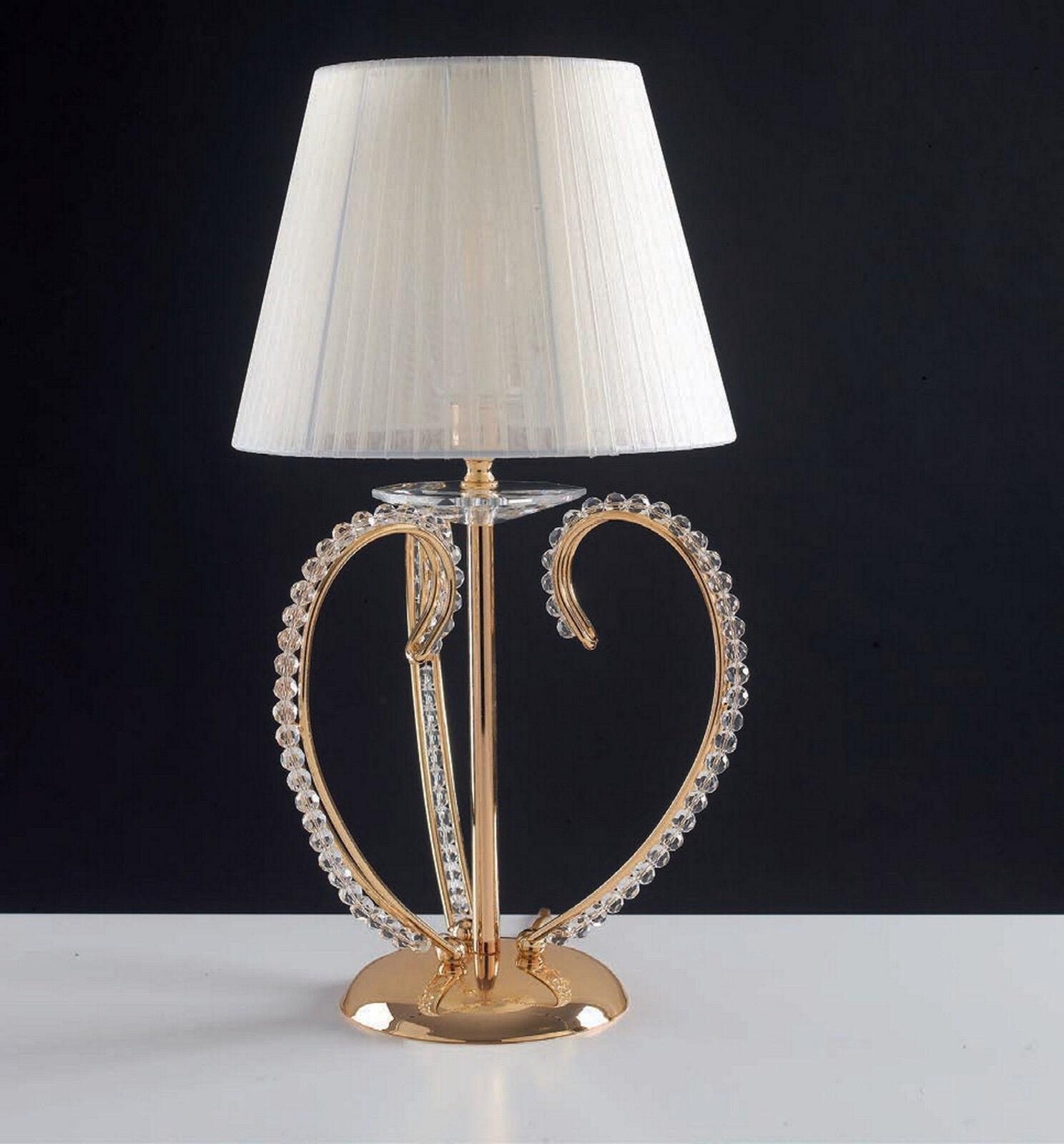 disegni esclusivi Lumetto classico oro con perle in cristallo cristallo cristallo 1 luce LGT Perla lp  ti renderà soddisfatto