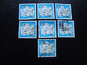 Briefmarke Yvert/tellier Nr Côte D Ivoire 704 X7 Gestempelt Briefmarke a27