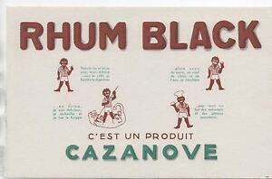 Buvard-Rhum-Black-Produit-Cazanove-Ref-70-23