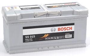 Bosch S5015 Batterie de Voiture 110A/h-920A