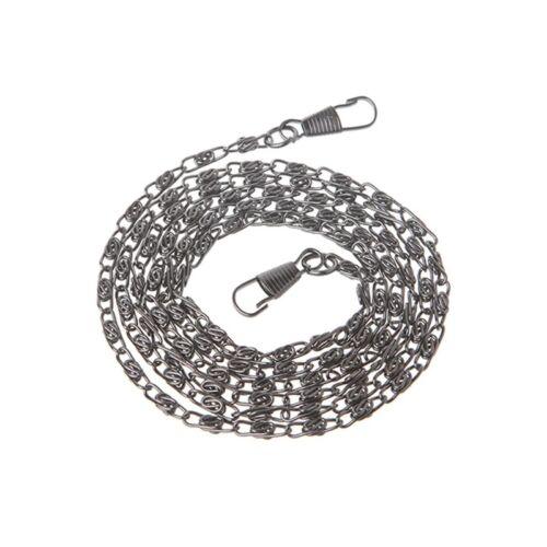120cm Purse Metal Chain Strap Handle Shoulder Crossbody Handbag Bag Replacement