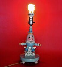 Used Working Vintage Humpty Dumpty Nursery Rhymes Wooden Lamp