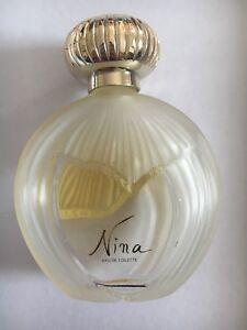 Rare Ricci Détails Ancien Sur Flacon Parfum Nina Lalique IYbgf76yv