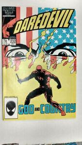 DAREDEVIL Vol 1 #232  1st Printing - Nuke                   / 1986 Marvel Comics