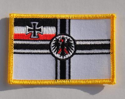 2019 Nieuwe Stijl AufnÄher Patch AufbÜgler Reichsflagge Fahne Flagge Tekorten