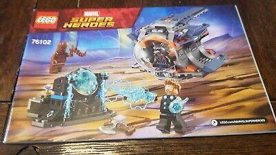Thor/'s Weapon Quest Building Set 76102 NEW NIB LEGO Marvel Super Heroes