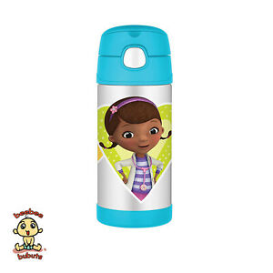 Thermos-FUNtainer-Disney-Doc-Mcstuffins-12-oz-335-ml-Authentic-and-Brand-New