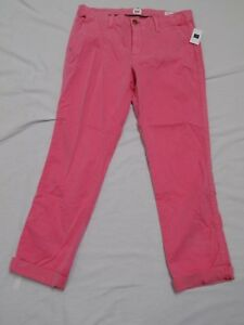 5eebcccb052 New Gap Girlfriend Chino Sugar Coral Pant Cuff or Straight 36X25 ...