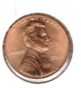 2011-Philadelphia-Brilliant-Uncirculated-Lincoln-Shield-One-Cent-Coin