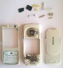 NEW WHITE REPLACEMENT HOUSING, FASCIA CASE COVER FOR NOKIA N73