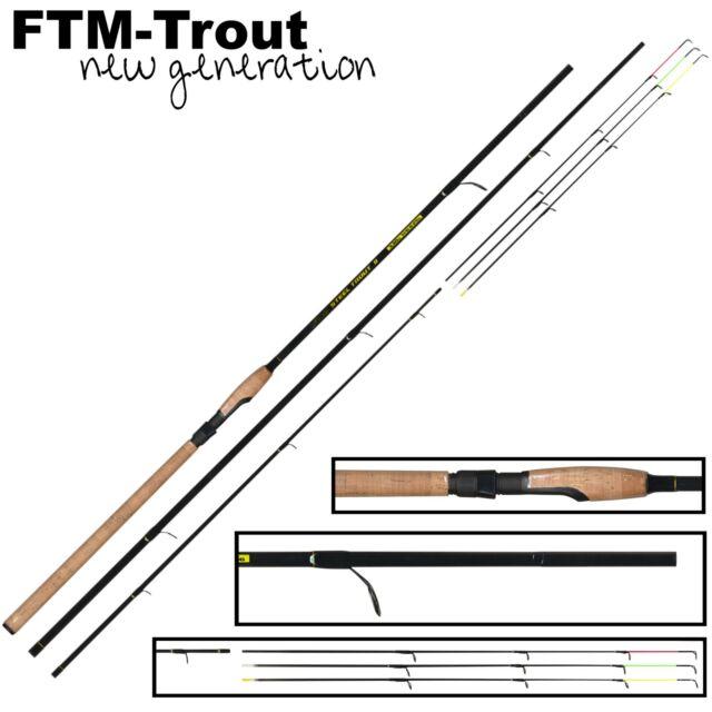 FTM Steel Trout II 3,00m 3+3 6-25g 3300212 Forellenrute Matchrute