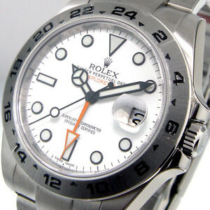 UNWORN-ROLEX-EXPLORER-II-216570-WHITE-DIAL-42-mm-MENS-STEEL-OYSTER-BRACELET