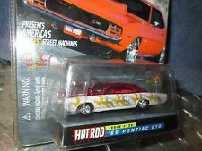 66 pontiac GTO HOT ROD mag 10 yrs Racing Champions issue #136 1/64 1 OF 9,999