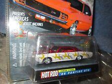 66 pontiac GTO HOT ROD mag 10 yrs Racing Champions issue #136 1/64 1 OF 9,999