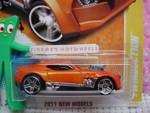 2011 #38 NM Hot Wheels TWINDUCTION ☆Orange variation☆Case E☆New Models