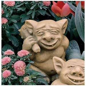 Image Is Loading Gothic Troll Like Gargoyle Nasty Bum Picker Garden