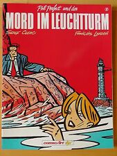 Phil Perfect und der Mord im Leuchtturm Nr. 2 1.te Auflage Carlsen SCr Album