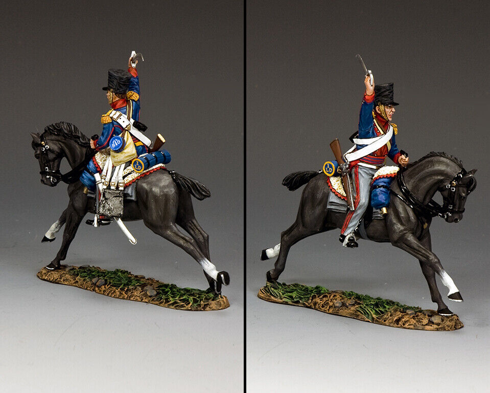 King & Country die Age Of Napoleon NA430 Kgl Dragoner Charge MIB