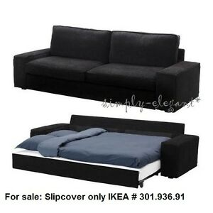Image Is Loading Ikea Kivik Sofa Bed Slipcover Sofabed Cover Tranas