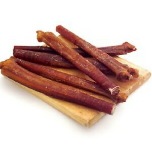 free ship usa all natural 6 inch beef bully sticks healthy odor free dog treat ebay. Black Bedroom Furniture Sets. Home Design Ideas