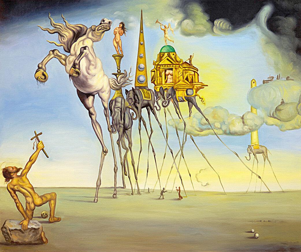famous surreal artwork