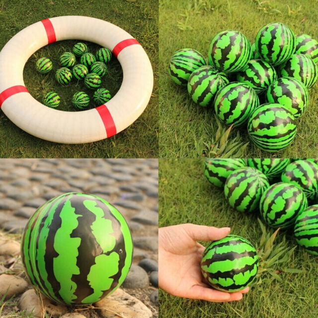 6.3 cm Watermelon Shaped Hand Wrist Exercise Stress Relief Squeeze Foam Ball  PM