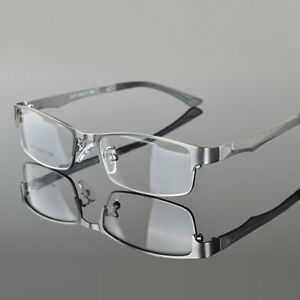 72263c5eba Details about Men s Designer Metal Full Rim Eyeglasses Frame Glasses  Spectacles Optical Rx
