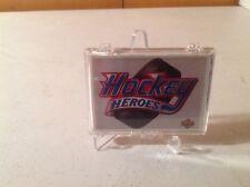 1991-92 Upper Deck Brett Hull Hockey Heroes Insert Set