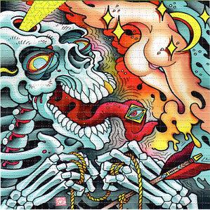 tip o my tongue blotter art perforated sheet acid free paper art