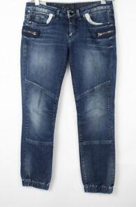 G-STAR RAW Women 3301 Plus Sudden Straigh Stretch Jeans Size W30 L30