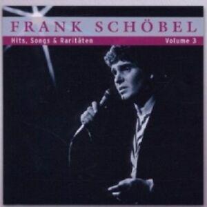 FRANK SCHÖBEL - HITS, SONGS UND RARITÄTEN VOL.3  CD 22 TRACKS SCHLAGER NEU