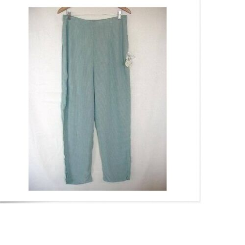 NEW FLAX Temperate rayon crepe Side Pocket Pants YOU PICK SZ /&COLOR