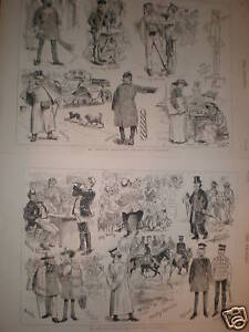 Caricatures-Life-in-Berlin-Germany-1882-prints