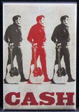 "Johnny Cash 2"" X 3"" Fridge / Locker Magnet."