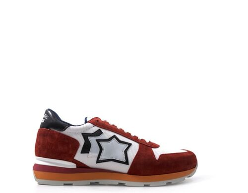 Sneakers Atlantic 85b Stars Trendy Hommes Chaussures Blanc Sirius Rouge rb qxPxIw4r