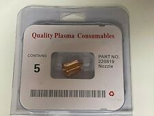 220819 5pcs For Hypertherm Plasma Cutter Nozzle Tip 65 Amp Newusa Shipping