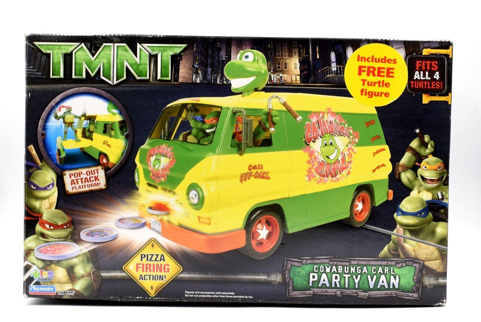 Teenage Mutant Ninja Turtles TMNT Movie - Cowabunga Carl Party Van Wagon