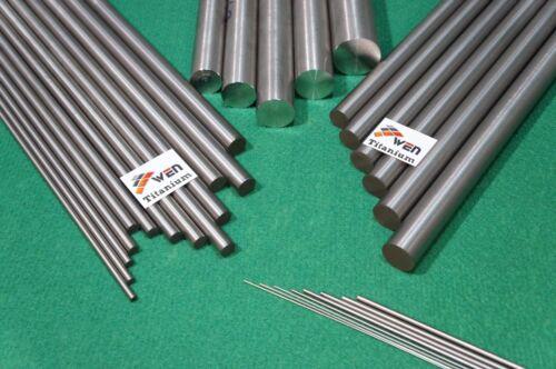 """4mm Dia Titanium 6al-4v .157/"""" x 10/"""" Round Bar Ti Gr.5 grade 5 Alloy rod 10pcs"""