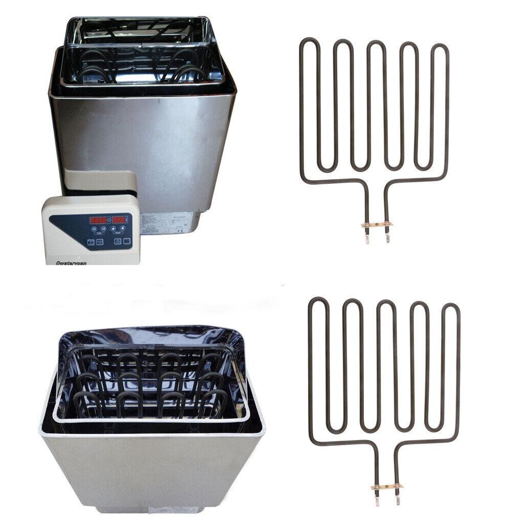 2 Pieces 2670W Heating Element for SCA Sauna Heater Spas Sauna Stove