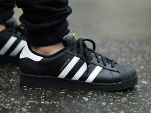 33df7e5c42dbe Image is loading Adidas-Superstar-Foundation-B27140-Men-039-s-Sneakers