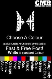 Classic-Mini-Pegatina-un-panel-Calcomania-Mini-Cooper-Union-Jack-Coche-Decal-par