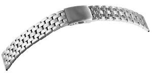 Edelstahl-Gliederband-Uhrenband-Silber-20-mm-Faltschliesse-X8100133200