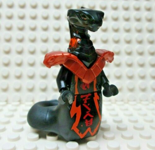 Lego Ninjago CHAR Black Snake from sets 70675 /& 70677 NEW