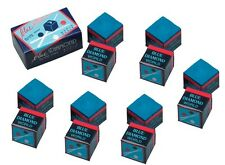 12 Pieces Of Blue Diamond Pool Chalk - Longoni Premium Quality Billiard Chalk